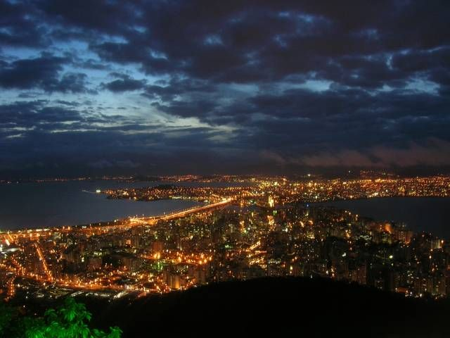 Florianopolis, in an island in the Atlantic Ocean in the southern part of Brazil, has amazing lakes, lagoons, and sights.