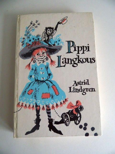 Boek Pippi Langkous uit 1972 (Art.15-3411)