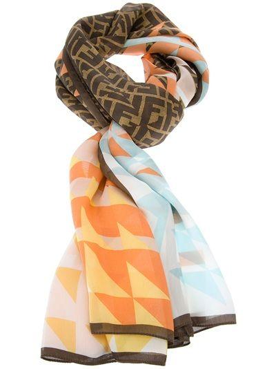 best 25 fendi scarf ideas on pinterest printed silk