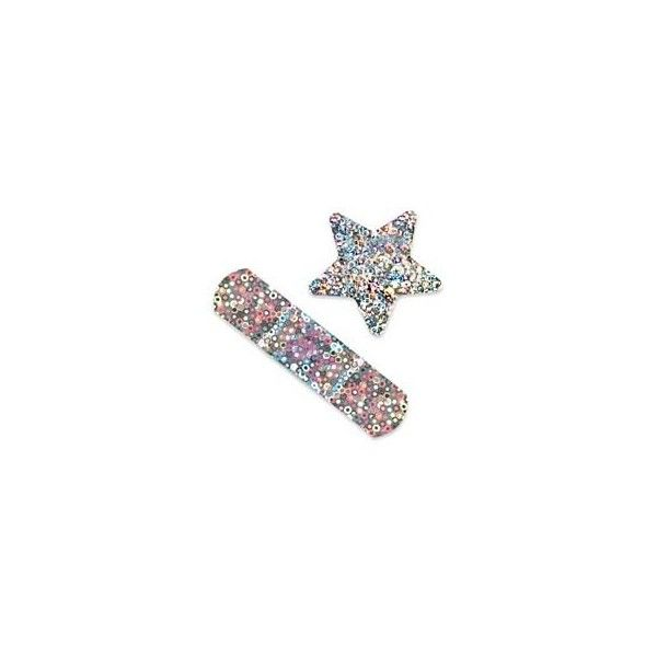 Glitter Stars and Strips Bandages - Kids stickers, toys and prizes... ($12) ❤ liked on Polyvore