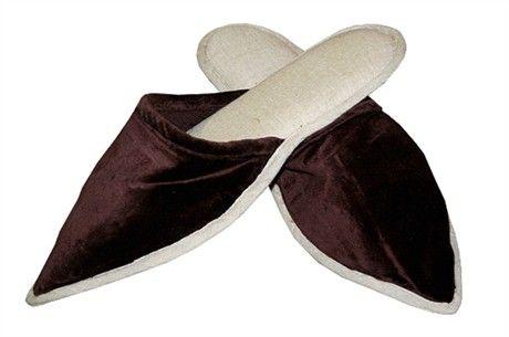 Velvet Slippers (Bordeaux) $25 #JimmyPossum #SupaCenta #GiftGuides