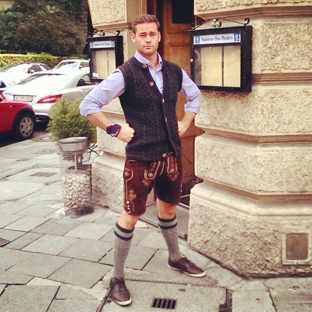 A true #barbarian…. Oops I mean true #bavarian  #wiesn #oktoberfest #lederhosen by Instagram User: nicholasharrington September 22, 2014 at 01:11PM #München #Altstadt