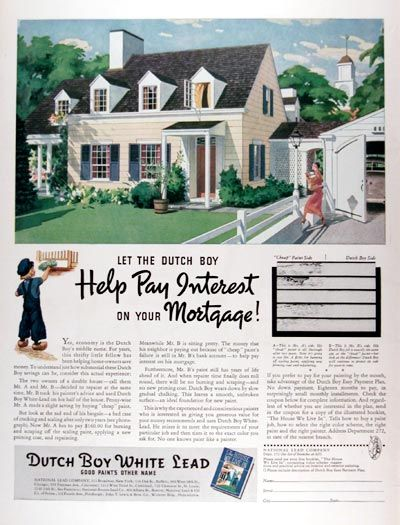 dutch boy paints marketing plan for Makers of dutch boy paints and compare the marketing strategy to that of lead paint makers could face the same fate as big tobacco.