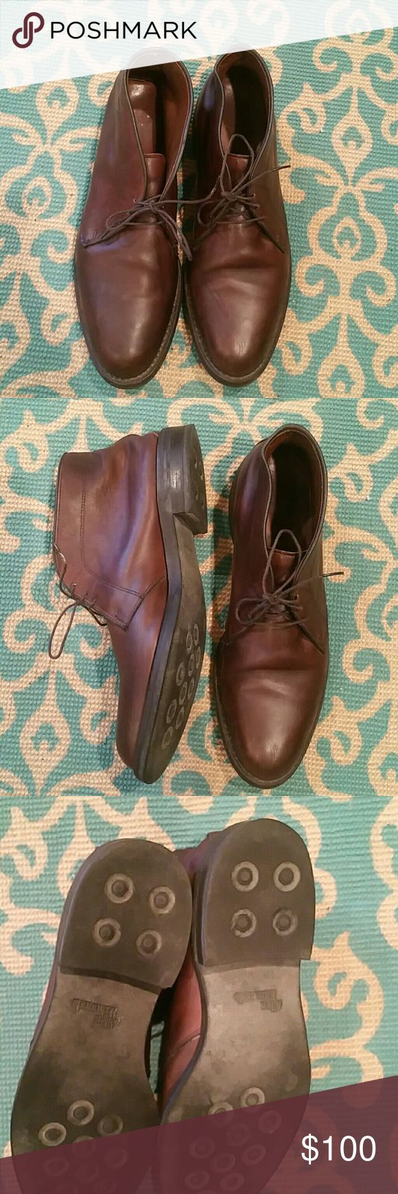 Allen Edmonds Men's Leather Chukka Boots Great condition, brown leather boots. Allen Edmonds Shoes Chukka Boots