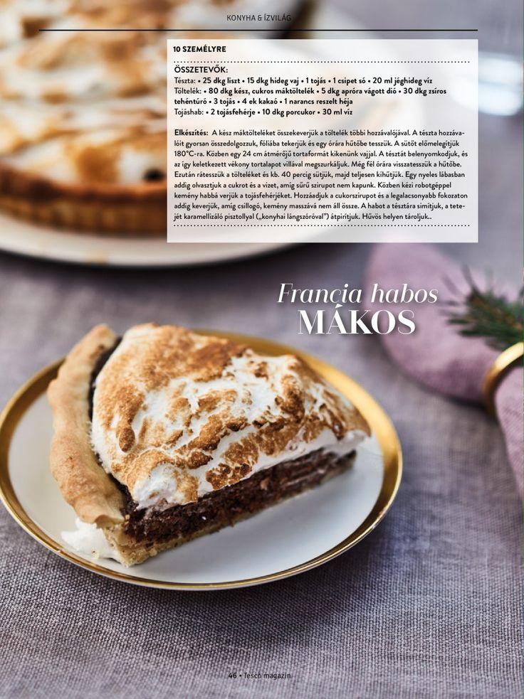 Francia habos mákos #desszert #mak #francia #isteni #tescomagyarorszag