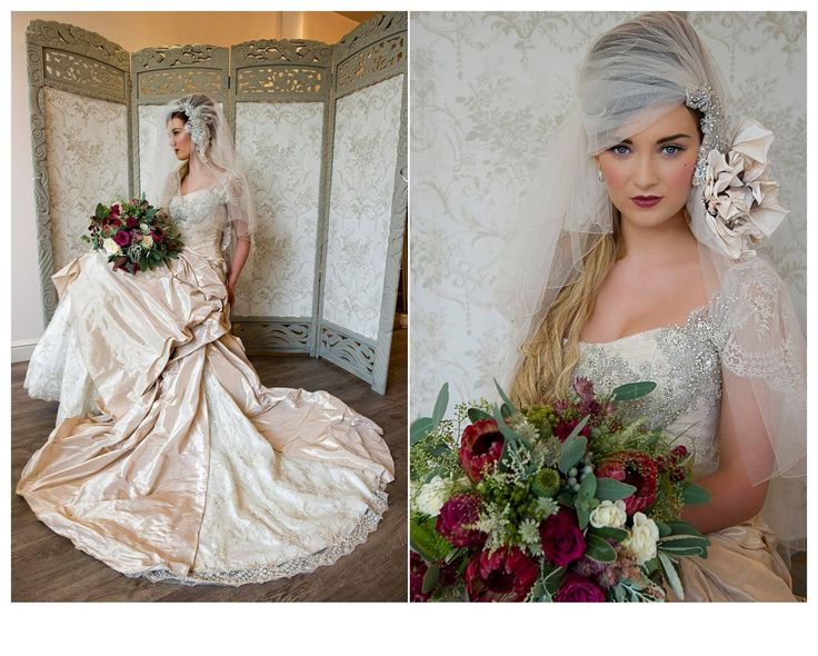 #Bridal #couture shoot. #MakeupbyTinaBrocklebank www.tinabrocklebank.co.uk #Victorian inspired. Dress - #JoannaLeighCouture, Photo by Tracy #ConwaySmith. Model - #SianaHemmings. Flowers - #TheWeddingandFlowerboutique.Hair - Claire Snowden.