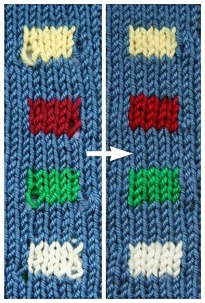 Knitting with different colors, whether stripes, stranded knitting or intarsia, is a lot of fun and a great way to bring personality to your knitting projects. But it can be difficult to make your col