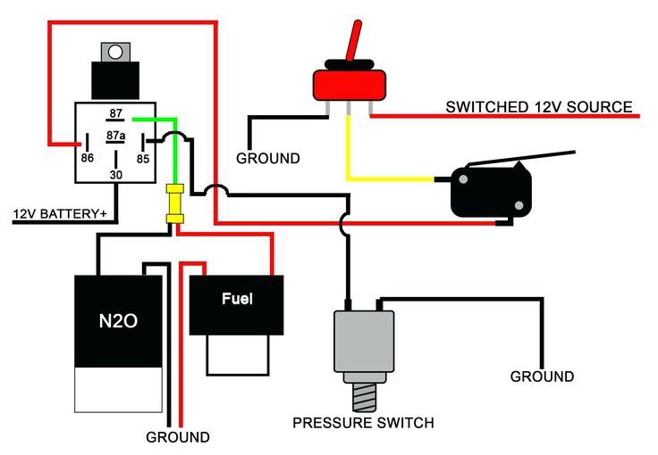12v Relay Wiring Diagram 5 Pin 12