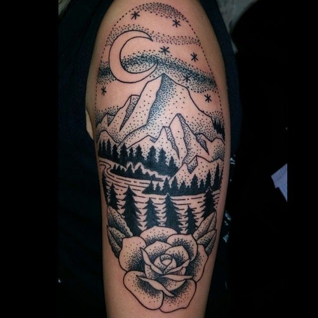 Tattoo-Journal.com - THE NEW WAY TO DESIGN YOUR BODY | 60 Spectacular Mountain Tattoo designs and ideas for All Ages | http://tattoo-journal.com