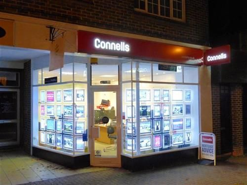 Connells Estate agents in Burgess Hill town centre