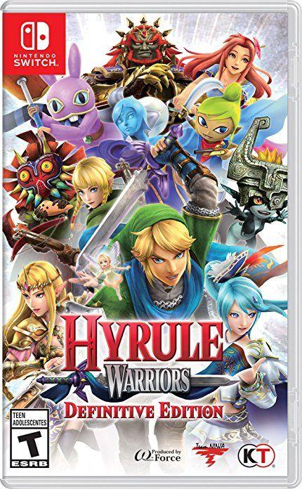 Hyrule Warriors Definitive Edition Nintendo Switch Wishlist In