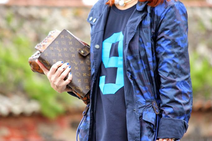 So cute by Guccisima: Blue camouflage