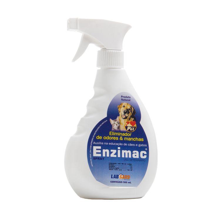 Eliminador de Odores e Manchas Enzimac Spray 500ml. #petmeupet #enzimac #manchas #cachorro #gato
