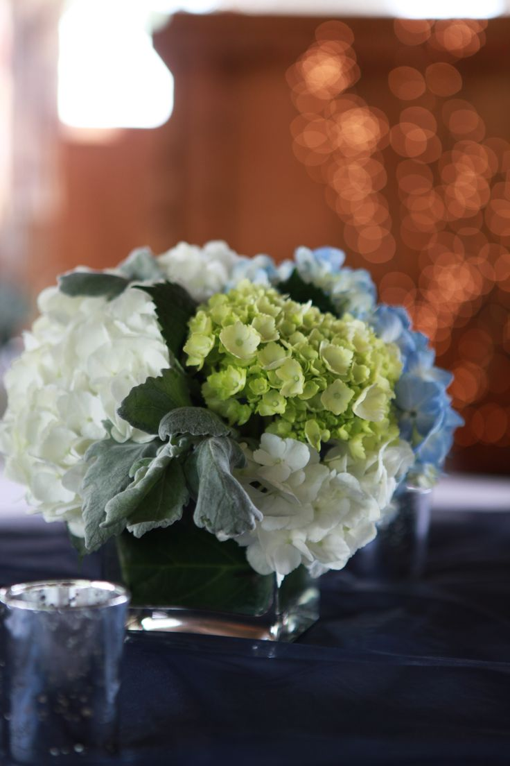 Hydrangea wedding centerpiece ideas pinterest