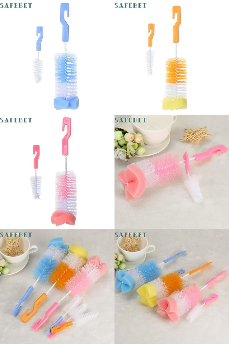 [Visit to Buy] 2017My House Baby Bottle Brush Cleaner Spout Cup Glass Teapot Washing Cleaning Tool Brus Hot Sell 17M24 #Advertisement