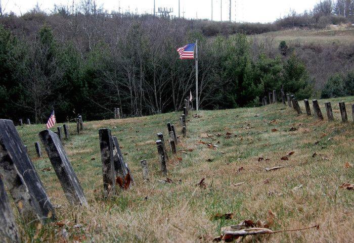 1) The Ridges Cemeteries (Athens, OH)