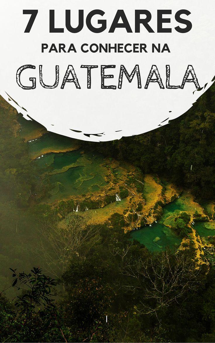 Guatemala: 7 lugares e cidades para conhecer durante a sua viagem. Descubra quais são os principais destinos turísticos do país, e o que te espera em cada um deles. Lagos, cidades históricas, ruínas maias, praias e muito mais.