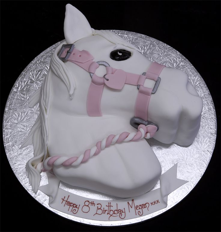Horse Head Novelty Cakes by The London Cake Company Limited - an assortment of them!