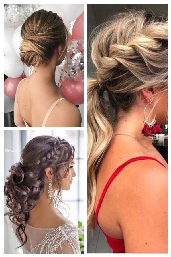 55 Elegant Prom Hairstyles Frisurenfrdenabschlussball Promhairstyleselegant Backless Dress Hairstyles Hair Styles Prom Hair