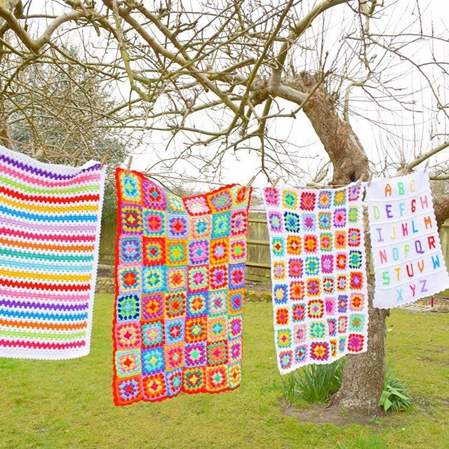 Hollie-Flower-Evans on Instagram: Crocheted blankets.