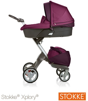 Buy your Stokke® Xplory® V3 Complete - Purple reviews from Kiddicare Baby Prams | Online baby shop | Nursery Equipment