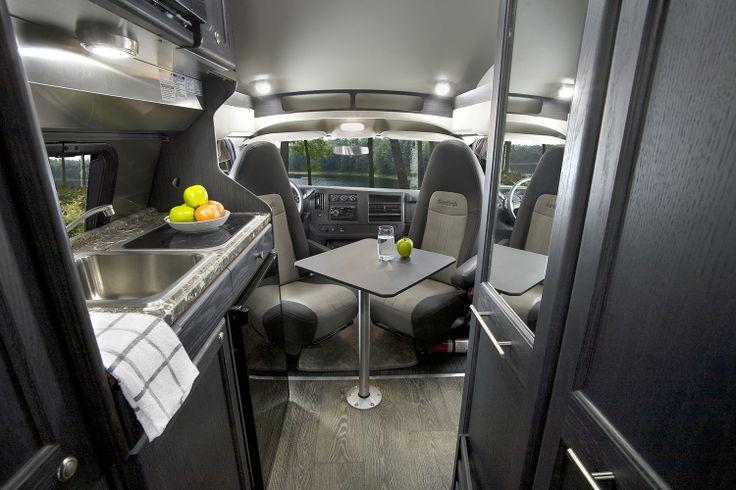 7 best roadtrek s new ebony interior images on pinterest camper rh pinterest com 2013 Roadtrek Ranger 190 Roadtrek RV Accessories