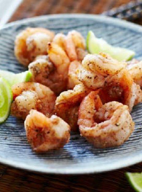 Low FODMAP and Gluten Free Recipe - Salt and pepper Sichuan shrimp http://www.ibssano.com/low_fodmap_recipe_salt_pepper_shrimp.html