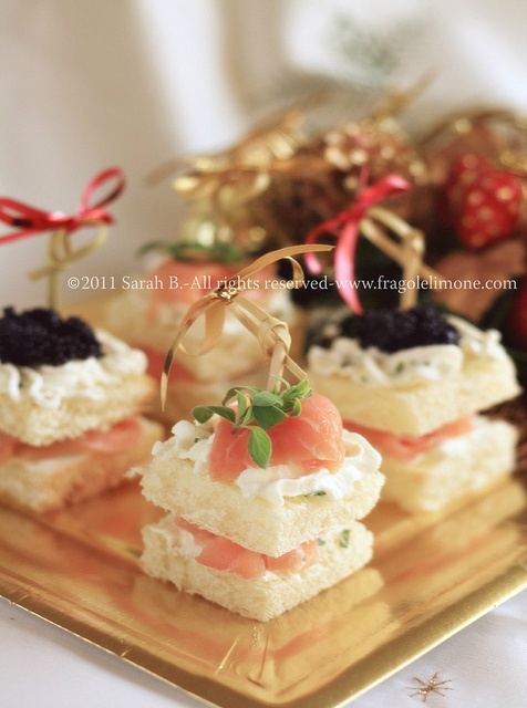 Appetizers for Christmas © Sarah Brunella www.fragolelimone.com