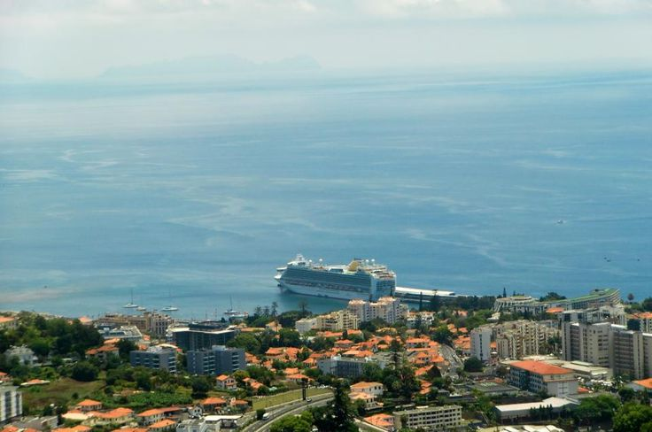 Andrew shared this long distance shot of Ventura in Funchal, Madeira to our Facebook. It really puts her size into perspective!