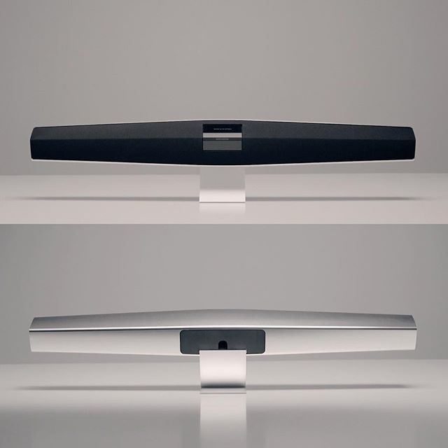 A lot of sonic muscle in a lean exterior. This is BeoSound 35!