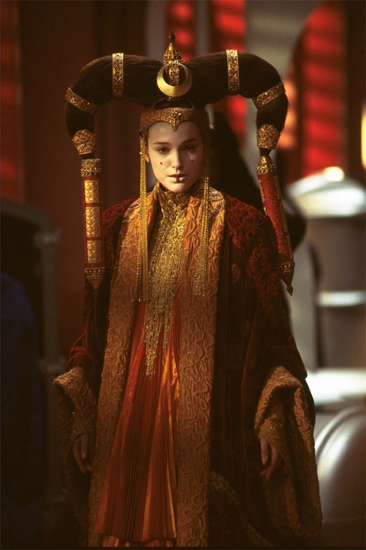 La Amenaza Fantasma. Natalie Portman (Queen Amidala, Padmé)