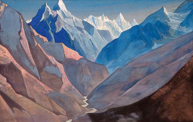 "Mount ""M"" 1931 - Nicholas Roerich - WikiPaintings.org"