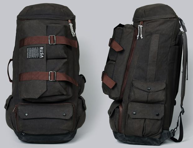 "VSTR ""pronounced Visitor"" and Partners & Spade The Nomadic Pack stashes a hideaway hammock and detachable messenger bag"
