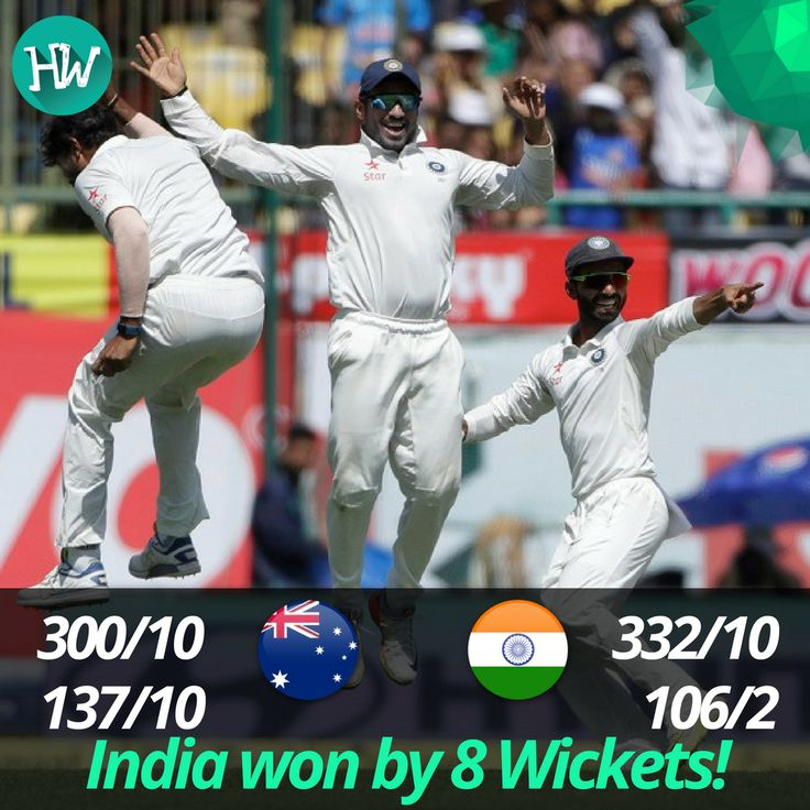 What a cracker of a match! No one thought this would be the result of the final match. India regain the Border-Gavaskar trophy! #INDvAUS #IND #AUS #cricket