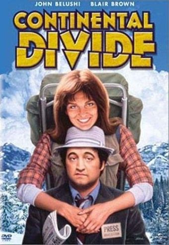 Continental Divide, 1981 ~  A hard-nosed Chicago journalist has an unlikely love affair with an eagle researcher.  I think I fell in love with John Belushi as Ernie Souchak.  Blair Brown, as always was great!  Fun, Sweet Comedy!!