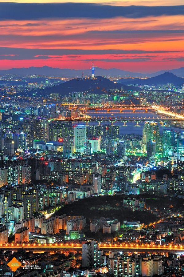 ソウルの夜景が美しい。韓国 旅行・観光の見所!