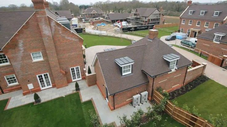 House Building Time Lapse | Kinsbrook | Brooks Green | West Sussex | Jan...