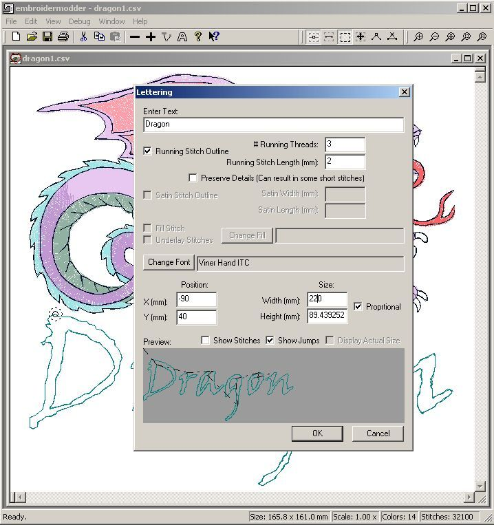 Free embroidery software also lots of links for more