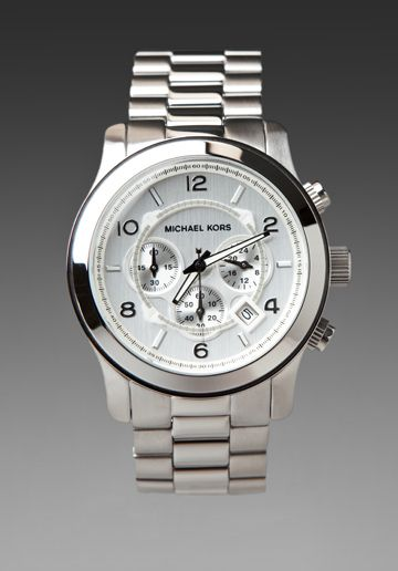 MICHAEL KORS 8086 Watch in Silver  i need this in gold
