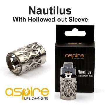 """This is for Aspire Nautilus BDC, For Aspire Nautilus Mini replacement """"T"""" window tank. A perfect fit for your Aspire Nautilous BDC and a stunning design will give your Nautilus Mini Tank a new design."""