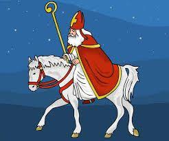 Sinterklaas prent