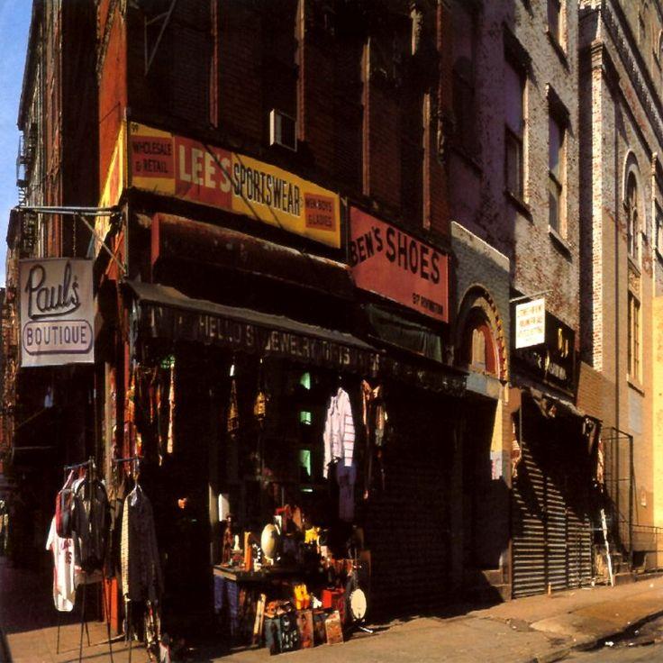 """""""Paul's Boutique"""" (1989). 99 Rivington St."""