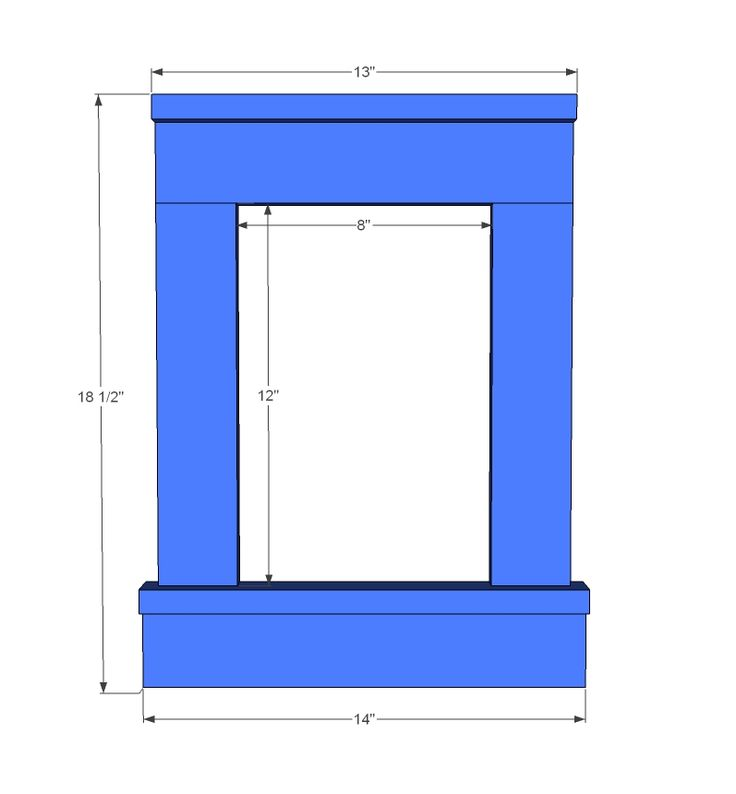 Ana White | Build a Craftsman Frame | Free and Easy DIY Project and Furniture Plans