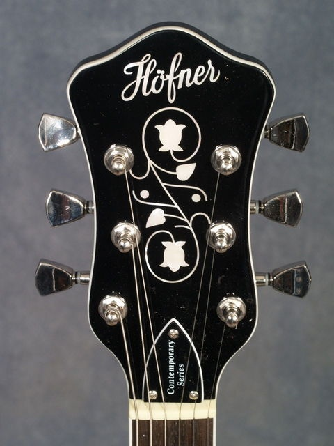 Hofner Contemporary Series Club Ct Guitar Black Finish Hctcg Bk Elderly Instruments Guitar Inlay Guitar Archtop Guitar