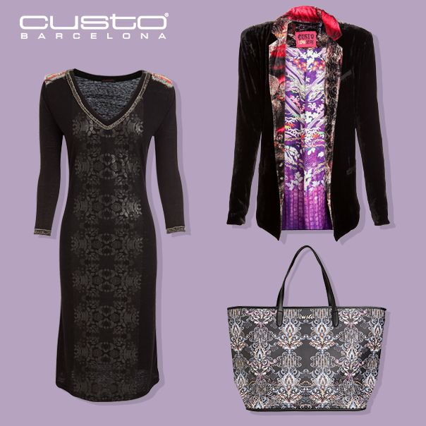 En estas fechas especiales este look todoterreno te acompañará durante todo el día sin perder un ápice de estilo > www.custo.com  On this special festivities this all-purpose look will fit you all day without losing a hint of style > www.custo.com