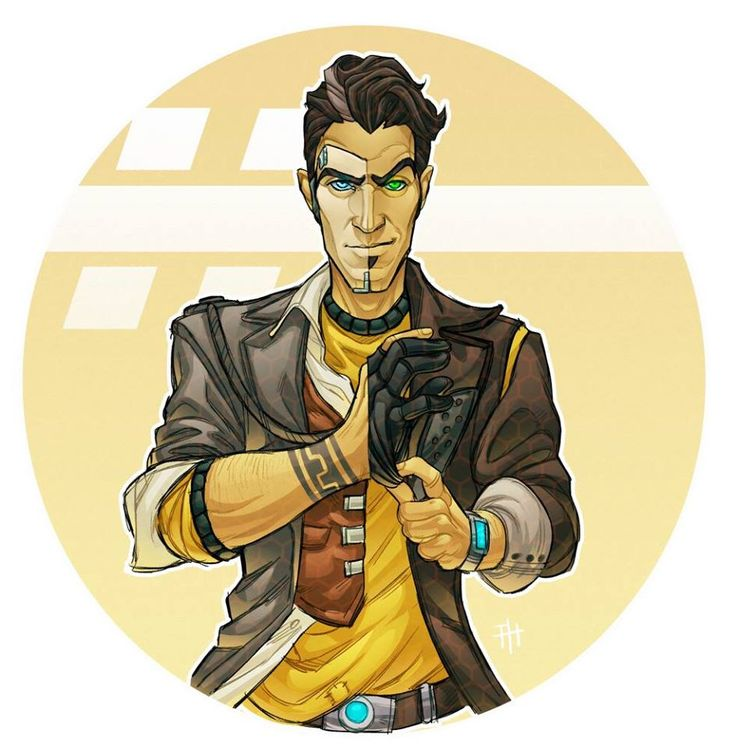 Handsome Jack (Past & Present) Fan art #borderlands ...