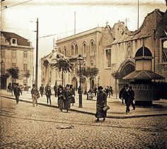 Largo do Carmo, 1910
