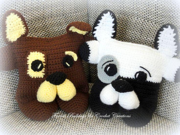 Bulldog pillows