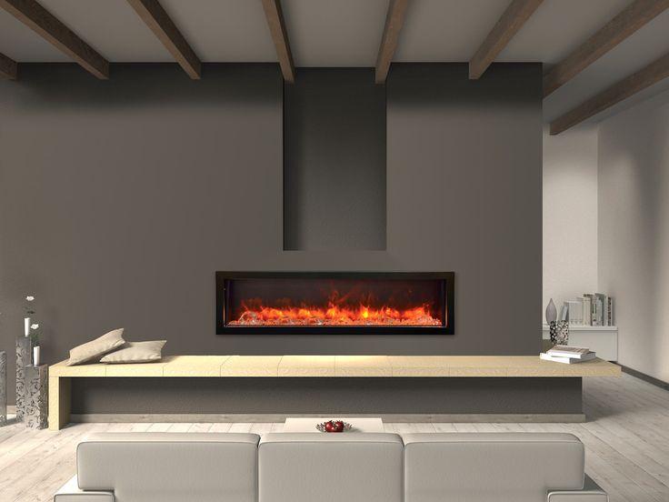 Electric Fireplace - Amantii 60″ Built-in Electric Fireplace (Panorama, BI-60-DEEP)