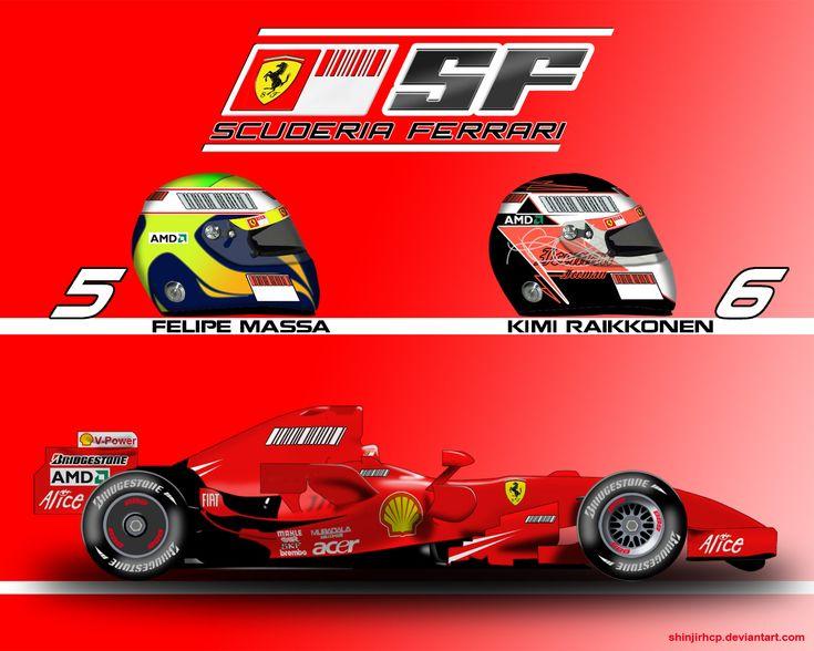 Ferrari F2007 by ShinjiRHCP.deviantart.com on @deviantART